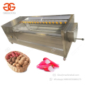 2017 Brush Type Radish Washing Cassava Ginger Peeling Washing Potato Carrot Peeler Machine