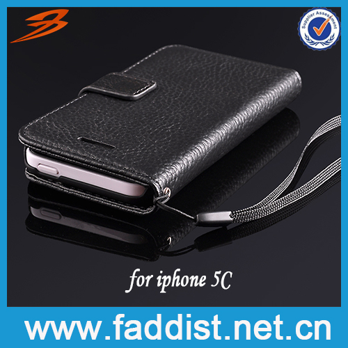 Genuine Leather Mobile Phone Case for Apple iphone 5c Hot