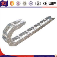 high performance stainless steel cable carrier Chain for CNC machine tool