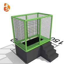 Hot Sale Customized Competition Bungee Jumping Trampoline