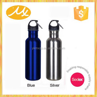 new products 201 stainless steel black sports bicycle water bottle holder MX-SS2265