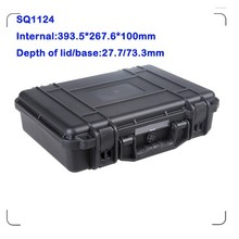 Low price high quality plastic waterproof tool safety equipment case with rubber handle