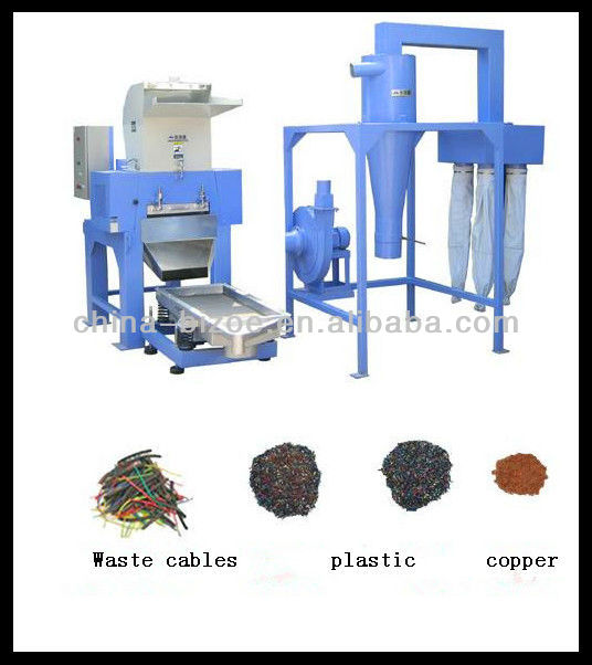 99% purity rate e waste recycling machine