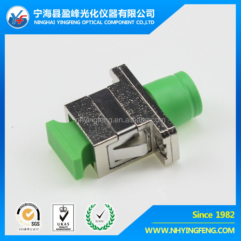 SC/FC/ST/LC/MU online shopping free sample china low price F simplex SC-FC APC SX hybrid fiber optic adapter Fiber Optic Adapter