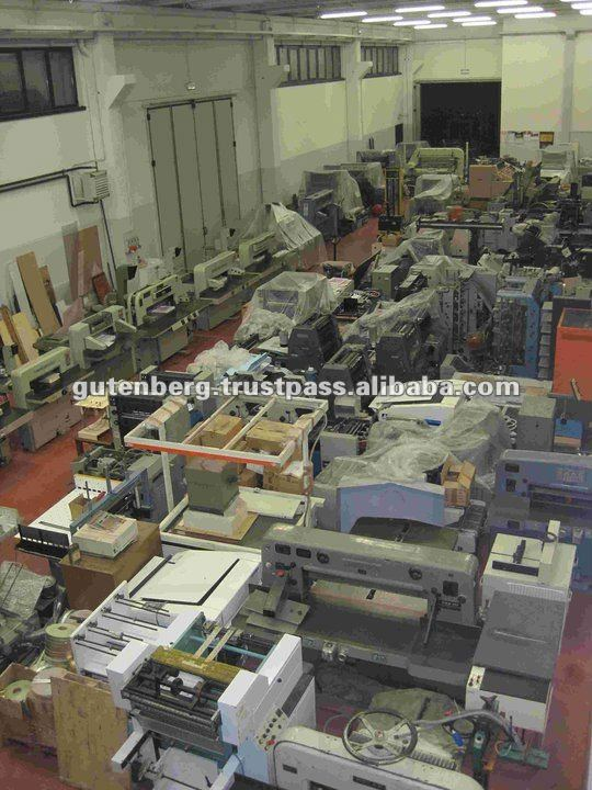 Heidelberg SM74-4-H Used Offset Printing Machine