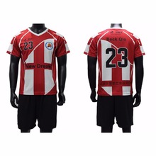 sublimation soccer uniform kits sportswear football team jersey sets