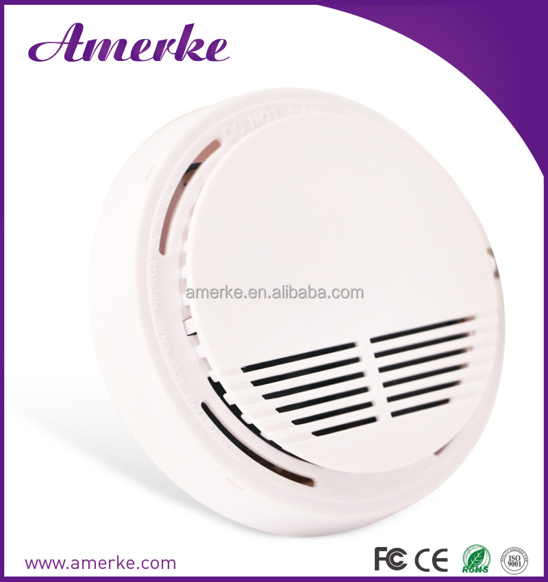 EN14604 fire alarm US electric smoke detector for office