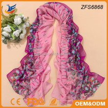 China yiwu scarf colorful silk shawl