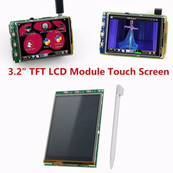 3.2 Inch TFT LCD Display Module Touch Screen For Raspberry Pi B+ B A+ Raspberry pi 3