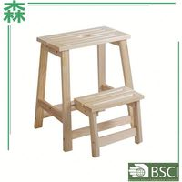 Yasen Houseware Outlets Folding Counter Stool,Step Stool For Kitchen,Wooden Folding Step Stool