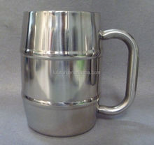 PERFECT MALE GIFT FOR COFFEE CUP & BEER CUP DRINKERS Stainless Steel Beer Mug- Shaped Mug