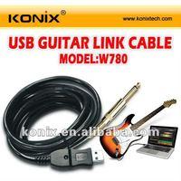 True plug & play Sound card inside usb guitar interface