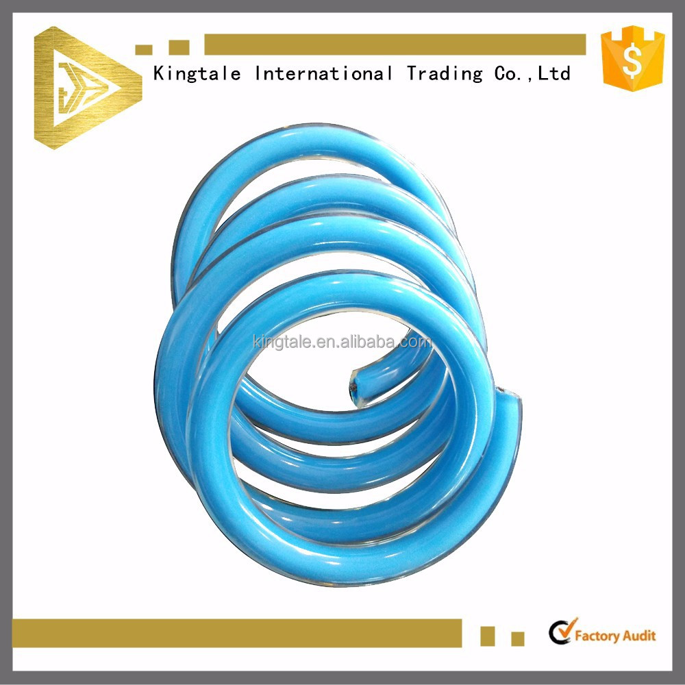 7x7 blue pvc jacketed spiral steel wire rope