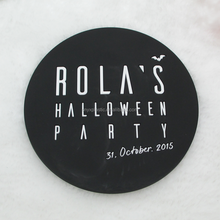 Promotional gift custom shape soft pvc soft rubber coasters placements