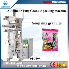 Volume Cup Dosing 50g to 500g Automatic Granular Soup Packing Machine