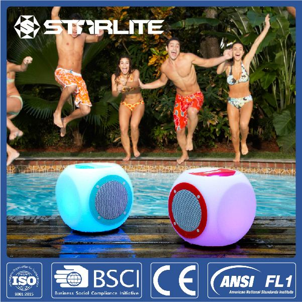 STARLITE Splashproof Tough Shell Rechargeable LED Lantern super bass portable bluetooth speaker