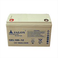 Manufacturer long life agm 12v 65ah battery for power system