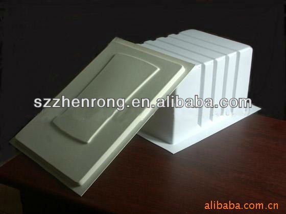 16special design square shaped thick vacuum forming plastic water dispenser liner,homeappliance