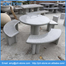 outdoor granite garden stone tables and benches