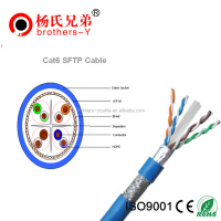 Pure copper 26awg ftp cat5e cable 4 pair 100Mhz+/350Mhz with peak performance