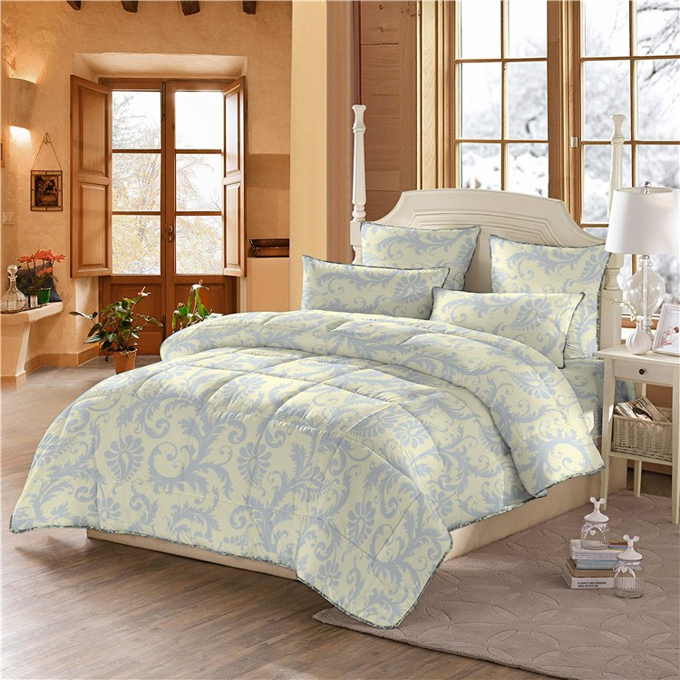 Reasonable price printed microfiber polyester bed sheets for Bedding sets near me