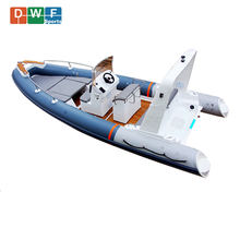 CE Approval Fiberglass Hull Inflatable Boat RIB 680 Yacht with Cheap Price