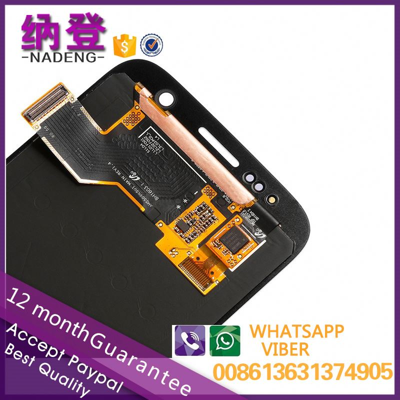 original mobile phone lcd for samsung S7 lcd assembly