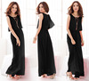 NEW Fashion Lady Elegant Chiffon Long Maxi Beach Evening Cocktail Party Dress
