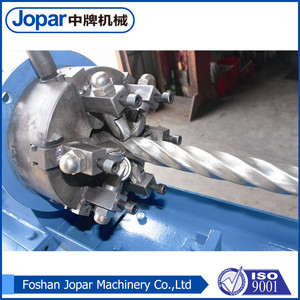 Factory direct sales decorative stainless steel automatic pipe threading machine