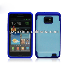 shockproof case for samsung galaxy s2,for samsung galaxy s2 i9100 hard case