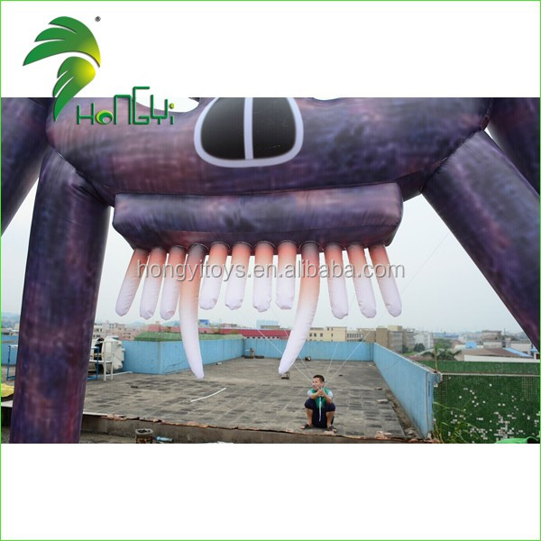 3D Inflatablesr Promotion Arch / 4.5M High Custom Finish Line Arch / Rainbow Door