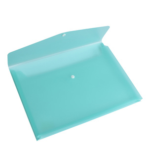 a4 plastic pp file document box ,pp document carrying file folder bag