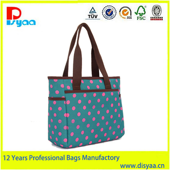 Fashion deisgn high-capacity portable mummy bag convertible diaper bag
