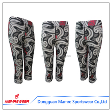 Wholesales OEM fitness running outfits compression wear yoga pants leggings private label printed leggings
