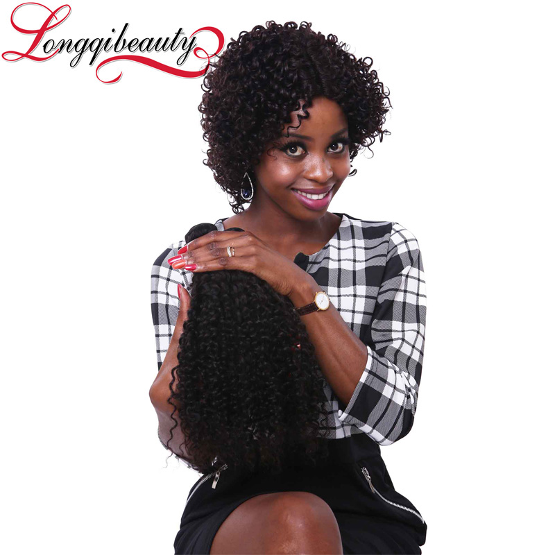 2015 Hot Sale Human Hair Lace Wi Kinky Twist Braided African Braided Wig