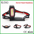 Super Bright 360 Swivel Headlamp,New LED Headlamp,COB Rotation Headlamp with clip
