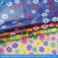 1403004-5078-14 Free Sample Available PU Leather Fabric Flowers for Shoes