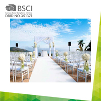China manufacturer 13 years factory in Guangzhou produce Disposable white stage wedding decoration aisle runner
