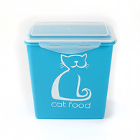 5.8L pet food storage container bin for dog cat
