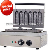 5 parts automatic crisp french muffin corn dog machine with CE approved