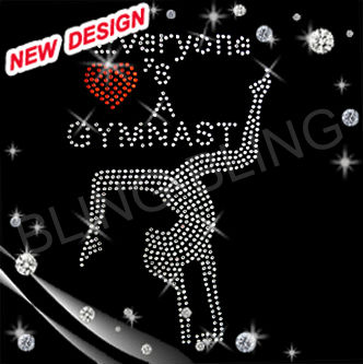 Newest gymnastics rhinestone transfers