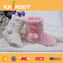 OEM service wholesale beautiful fur women boots cheap