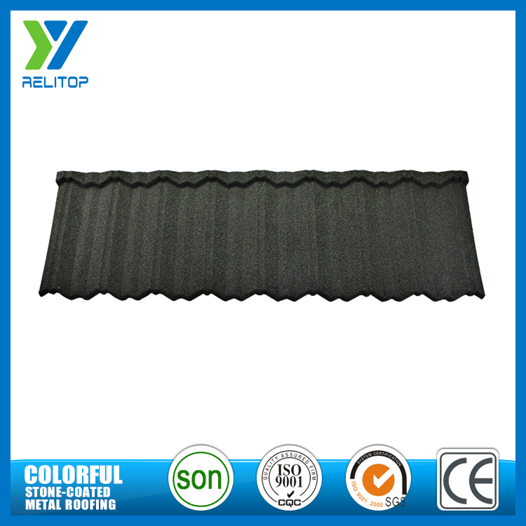 Roofing material Lightweight and strong stone coated metal roof nosen