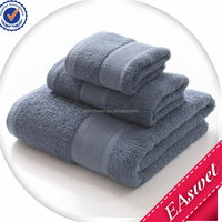 New Absorbent Embroidery 100% Cotton Bath Towel for Spa And Hotel