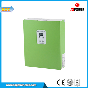Maximum Power Point Tracer MPPT Solar PV Charge Controller 25A with Working Time Control