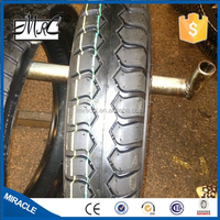 High rubber quality three motorcycle tyre tubes 4.50-12