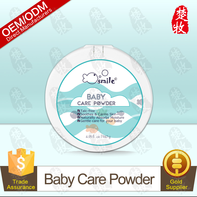 100% Natural Cornstarch Baby Powder 140g Fragrance Free for Baby Skin Care OEM/ODM