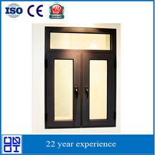 Younante aluminum casement window with grill design
