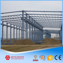 ADTO Ready Made Light Steel Structure Prefabricated House Roofing Fast Building Metal Workshop Warehouse with Drawing For Sale