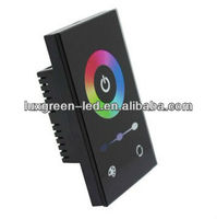 Latest USA standard wall mounted rgb led touch controller